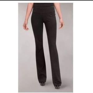 Cabi grey slack work dress pants zip stretchy 6